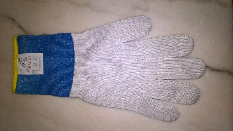 Antisnijhandschoen type 1