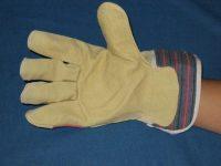 Lederen Werkhandschoen